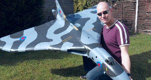 Avro Vulcan Edf Rc Model